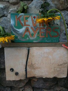 Kevin and Ollie memorials