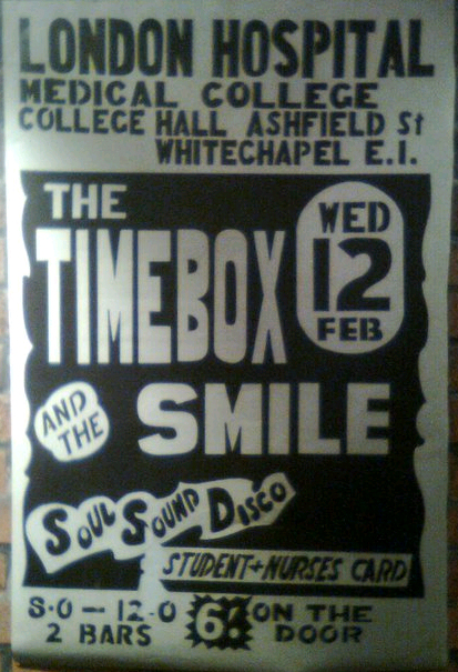 Timebox poster